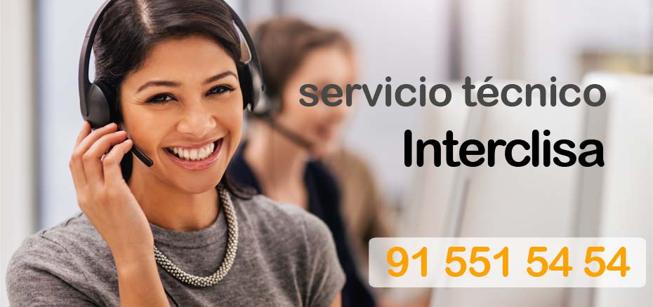 Servicio tecnico Interclisa Madrid