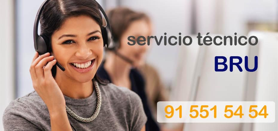 Servicio técnico Bru en Madrid