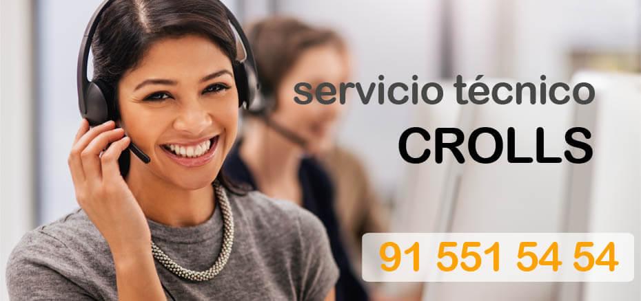 Servicio tecnico Crolls en Madrid