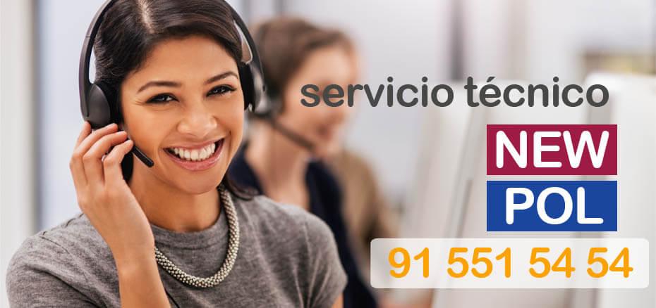 Servicio tecnico New Pol en Madrid