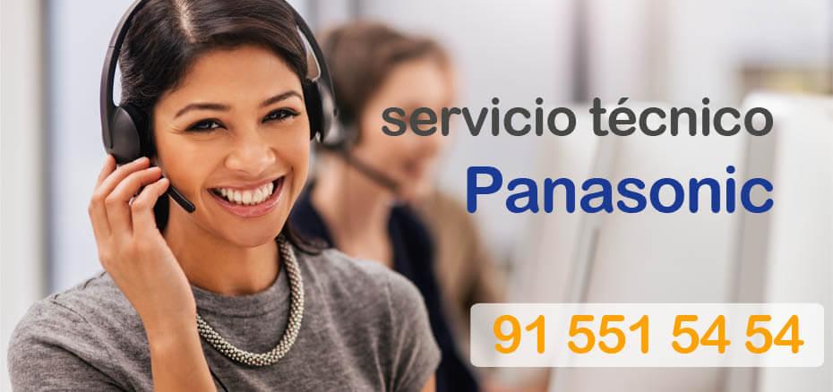 Telefonos servicio tecnico Panasonic en Madrid