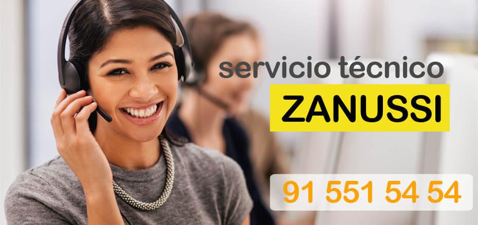 Servicio técnico Zanussi en Madrid
