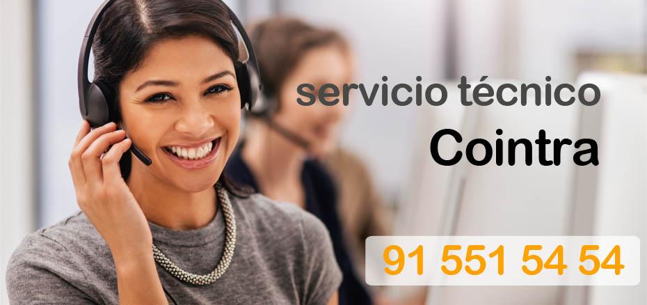 Telefonos servicio tecnico Cointra Madrid