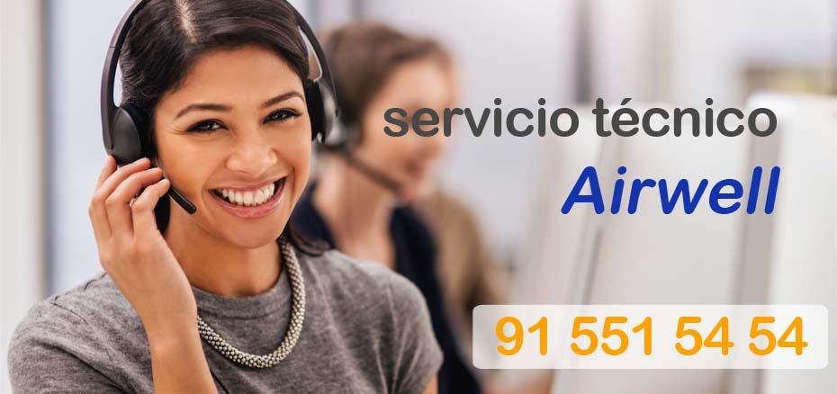 Servicio tecnico Airwell Madrid