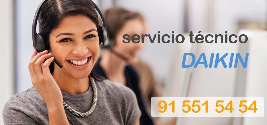 Sat Daikin en Madrid telefonos