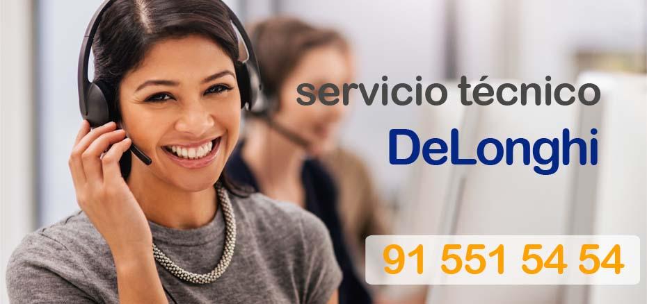 telefono SAT Delonghi Madrid. Reparación de aire delonghi