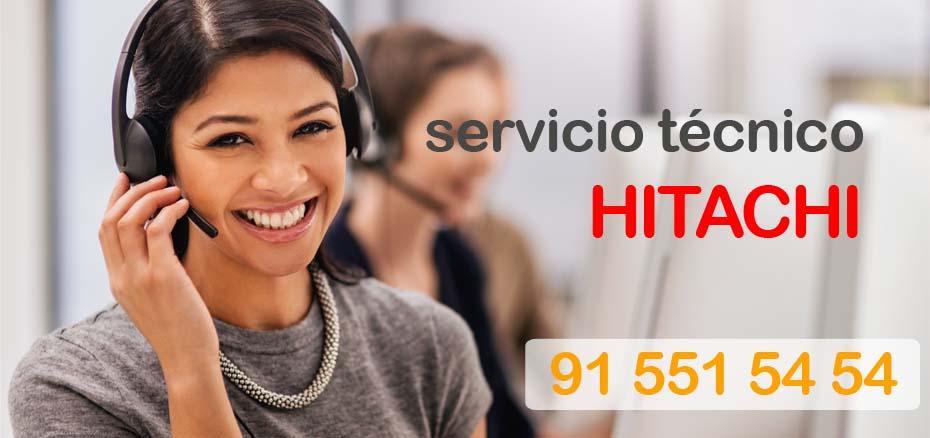 Telefonos de Hitachi Madrid