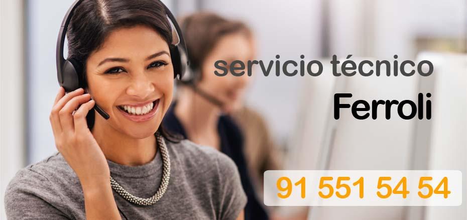 Servicio tecnico aire acondicionado ferroli Madrid
