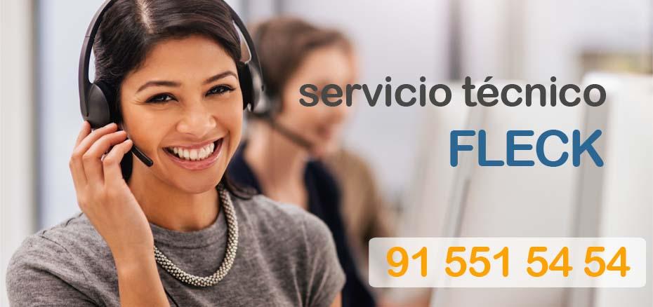 Telefono servicio técnico Fleck Madrid