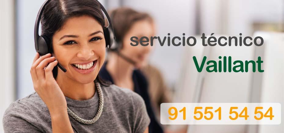 Telefono del servicio tecnico Vaillant en Madrid